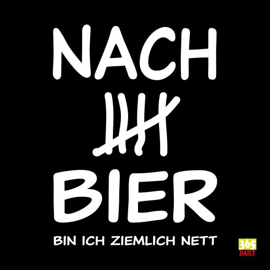 Biertrinker Bier