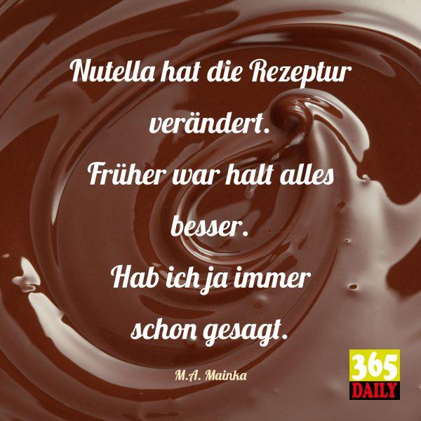 Liebe Nutella