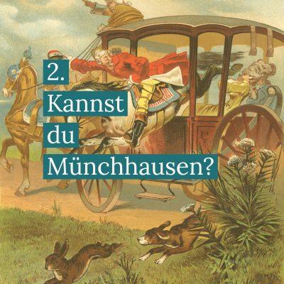 Münchhausen und Pferd