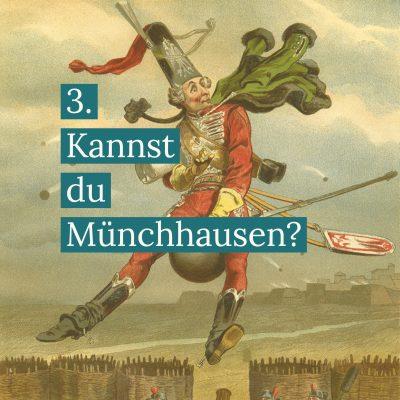 Münchhausen und Kanonenkugel