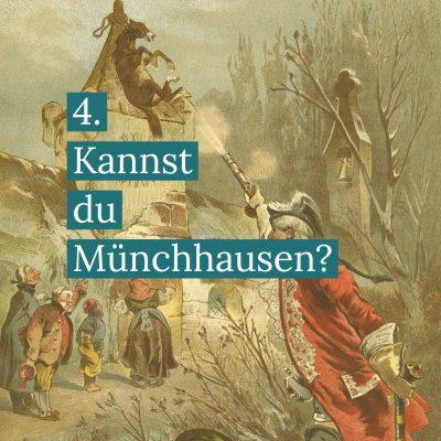 Münchhausen und der Kirchenturm