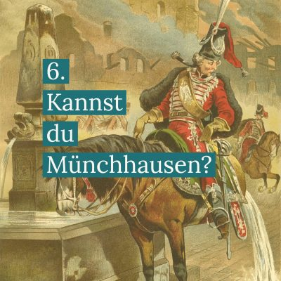Münchhausen Harnstrahl Wahrheit