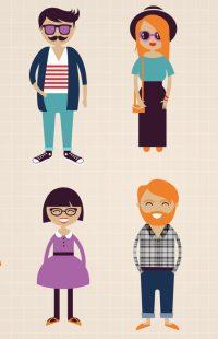 Hipster Stil Kleidung